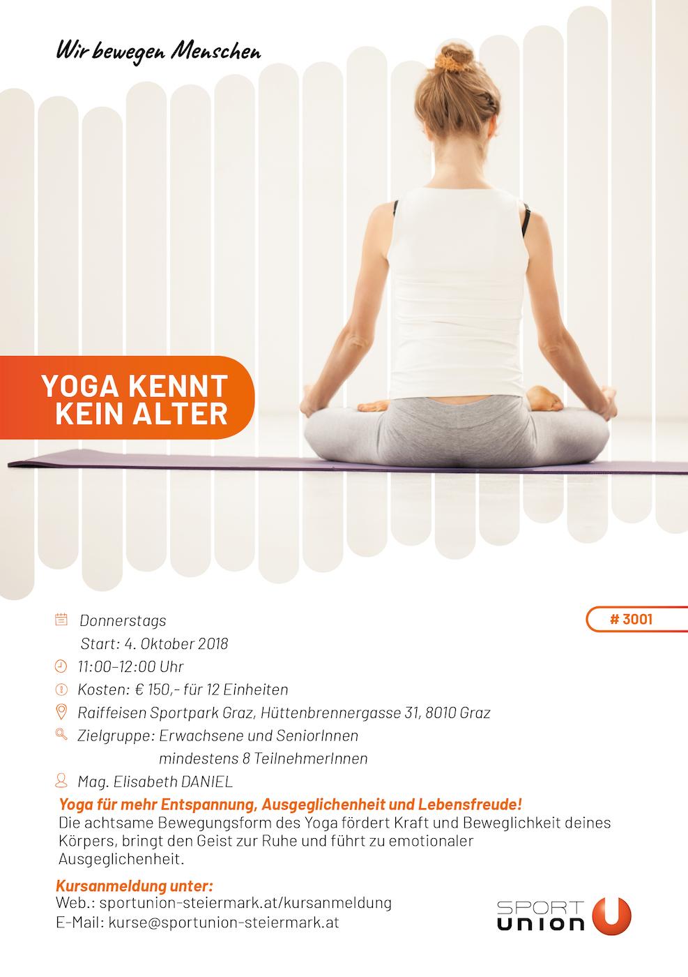 Yoga - Raiffeisen Sportpark