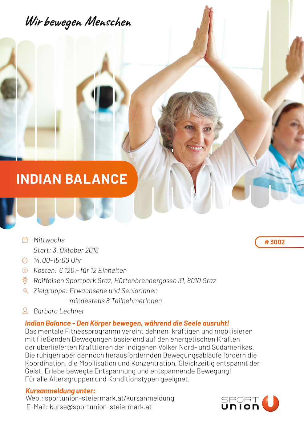 Indian Balance - Raiffeisen Sportpark