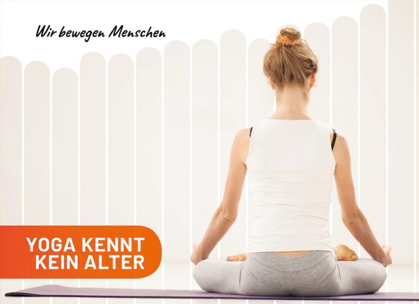 Yoga kennt kein Alter - Raiffeisen Sportpark